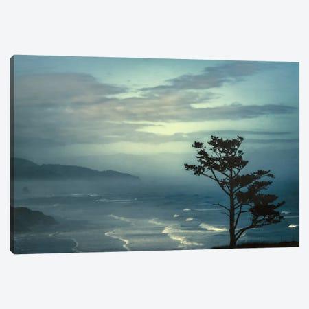 Gentle Waves Canvas Print #DSC38} by Don Schwartz Canvas Artwork