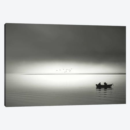 Going Fishing Canvas Print #DSC39} by Don Schwartz Canvas Wall Art