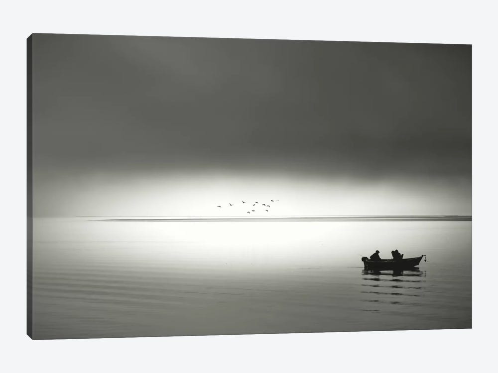 Going Fishing by Don Schwartz 1-piece Art Print