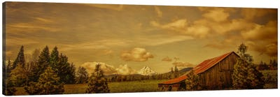 Hood River Barn Canvas Art Print