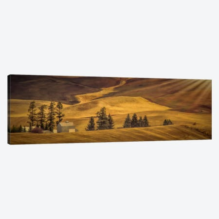 Idyllic Farm Canvas Print #DSC44} by Don Schwartz Canvas Artwork