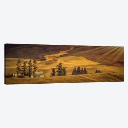 Idyllic Farm Canvas Print #DSC44} by Don Schwartz Canvas Artwork
