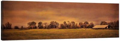 Long Barn At Daybreak Canvas Art Print