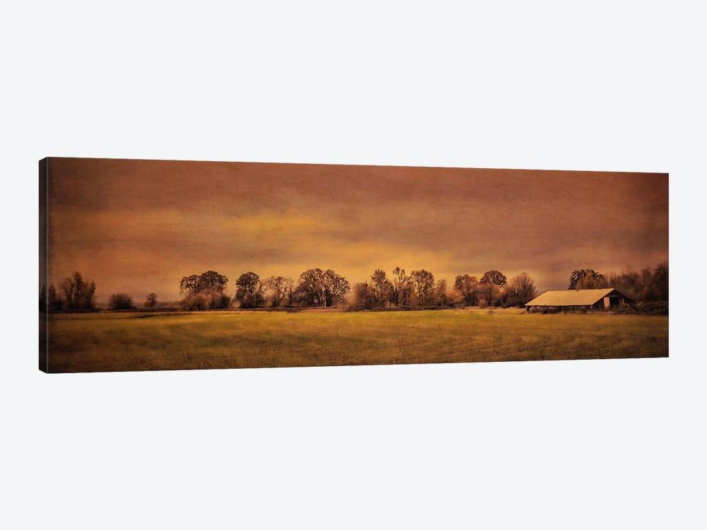 Long Barn At Daybreak by Don Schwartz 1-piece Canvas Art Print