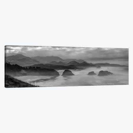 Mist In The Morning Canvas Print #DSC55} by Don Schwartz Canvas Print