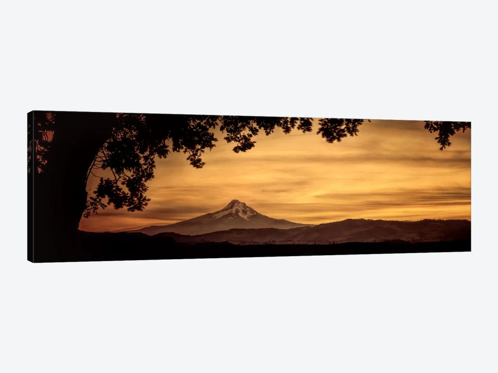 Mt. Hood At Sunset by Don Schwartz 1-piece Canvas Art Print
