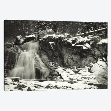Paulina Falls Canvas Print #DSC63} by Don Schwartz Canvas Art Print