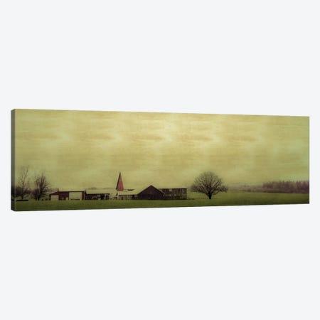 Roadside Barn Canvas Print #DSC68} by Don Schwartz Canvas Print