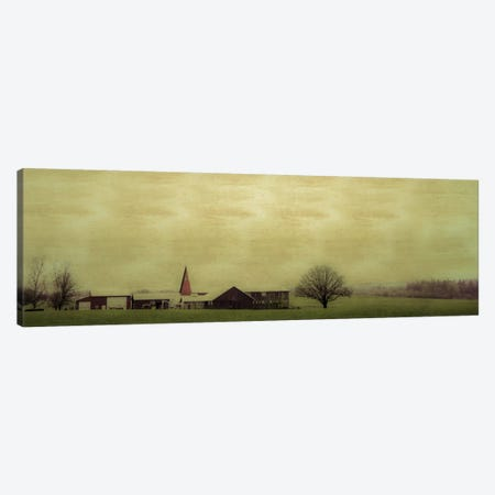Roadside Barn Canvas Print #DSC68} by Don Schwartz Canvas Print