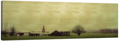 Roadside Barn Canvas Art Print