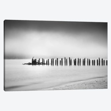 Along The River Canvas Print #DSC6} by Don Schwartz Canvas Print