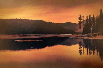 CANVAS OR PRINT WALL ART Serenity Lake