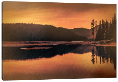Sparks Lake Serenity Canvas Art Print