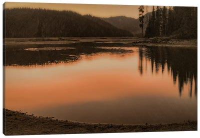 Sparks Lake Sunset Canvas Print #DSC79