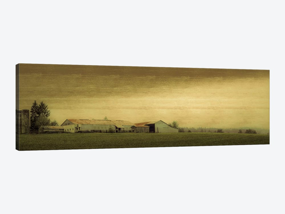 Antiquated Barn by Don Schwartz 1-piece Canvas Art