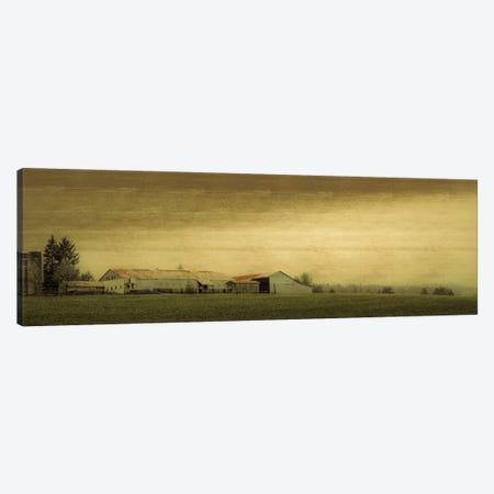 Antiquated Barn Canvas Print #DSC7} by Don Schwartz Art Print