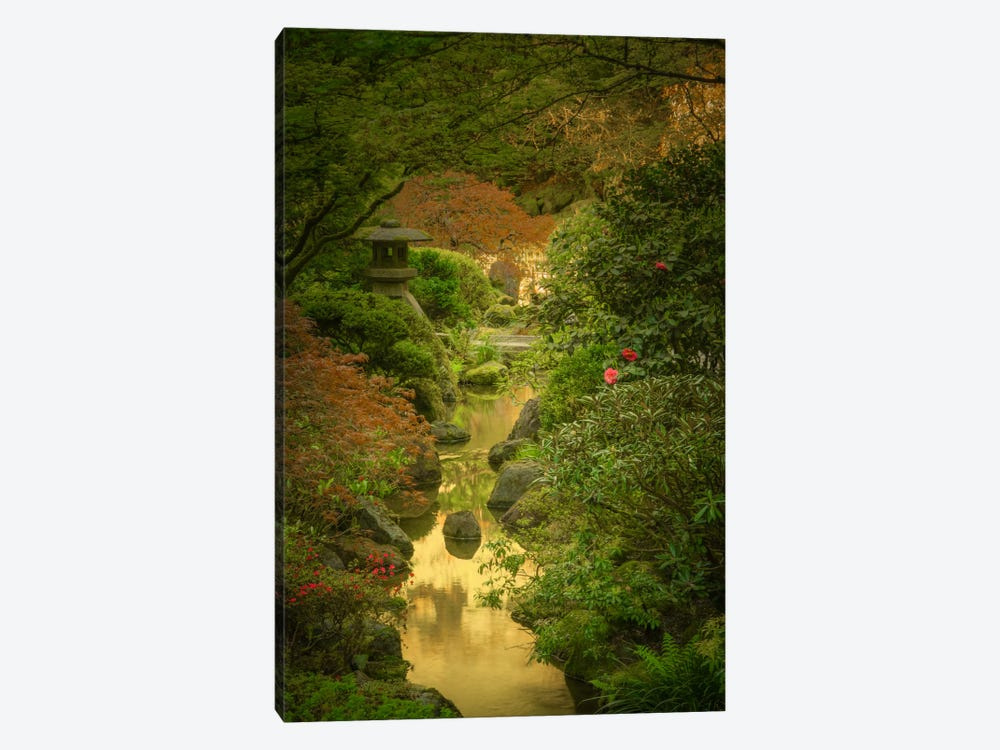 Spring From The Moonbridge by Don Schwartz 1-piece Canvas Wall Art