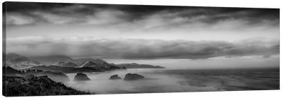 Sun-Kissed Coastal Morning Canvas Print #DSC89