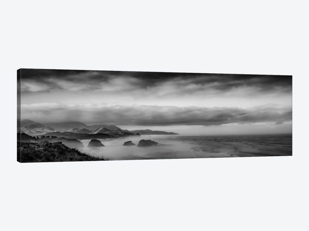 Sun-Kissed Coastal Morning by Don Schwartz 1-piece Canvas Artwork