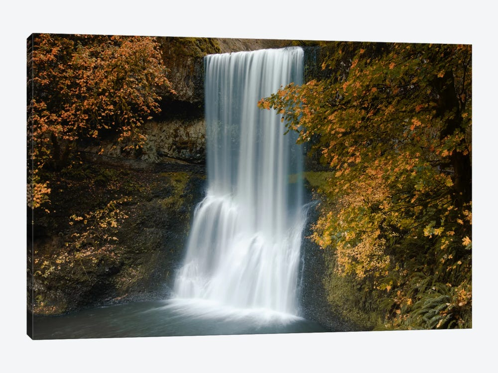 Autumn Cascade by Don Schwartz 1-piece Canvas Art Print