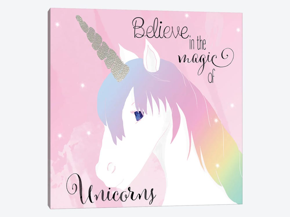 Believe in the Magic by Daniela Santiago 1-piece Canvas Artwork