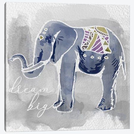 Dream Big Canvas Print #DSG15} by Daniela Santiago Art Print