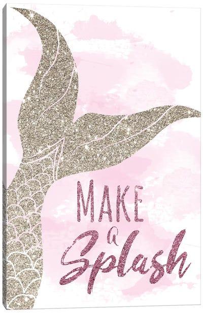 Make a Splash Canvas Art Print