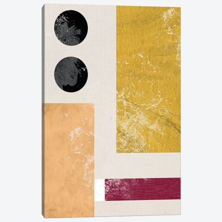 Essie Abstract I Canvas Print #DSG1} by Daniela Santiago Canvas Art