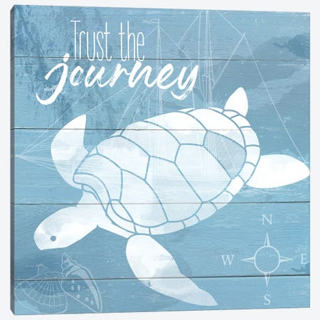 Trust the Journey Canvas Print #DSG23} by Daniela Santiago Art Print
