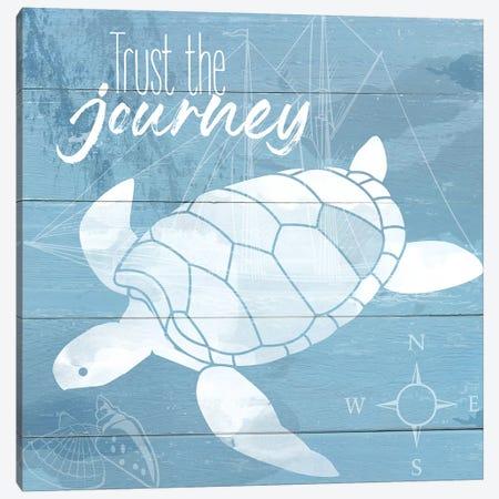 Trust the Journey Canvas Print #DSG23} by Daniela Santiago Art Print
