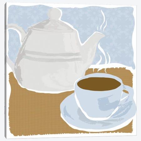 Afternoon Tea Canvas Print #DSG24} by Daniela Santiago Canvas Art