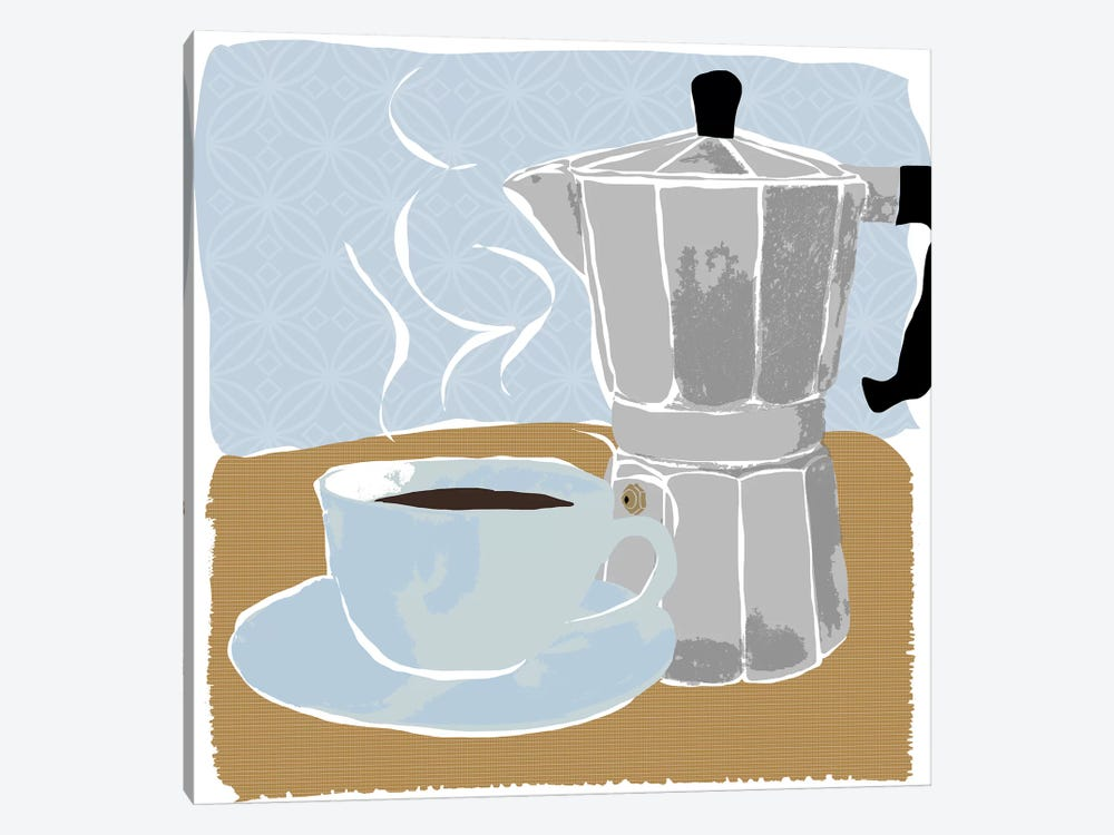 Fresh Coffee I by Daniela Santiago 1-piece Canvas Art