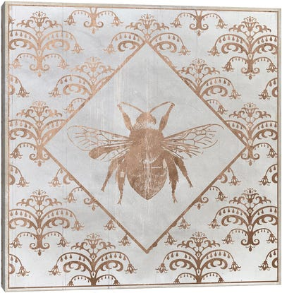Bee Distressed I Canvas Art Print