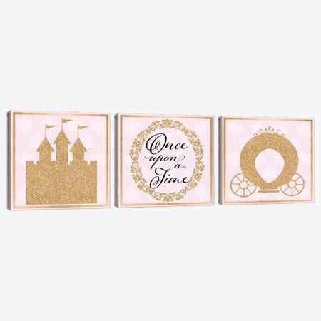Little Castle Canvas Print Set #DSG3HSET001} by Daniela Santiago Art Print