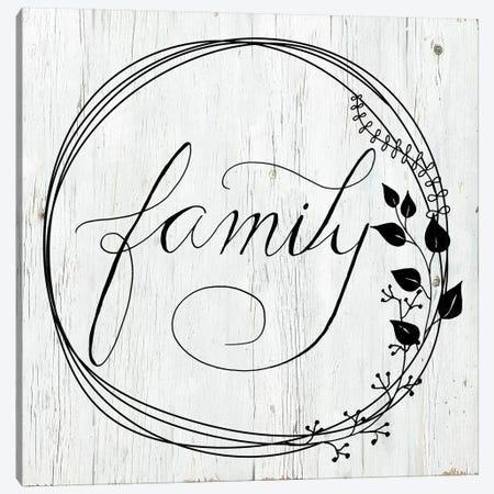 Family 3-Piece Canvas #DSG47} by Daniela Santiago Canvas Artwork