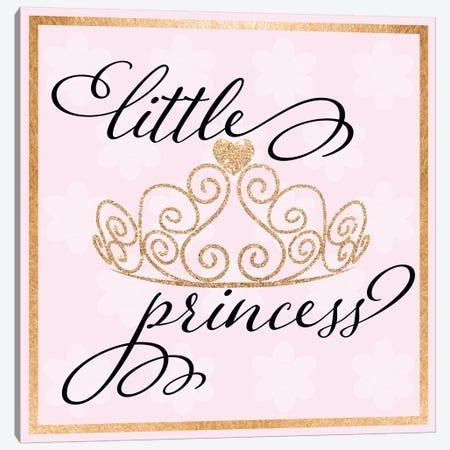 Little Princess Canvas Print #DSG53} by Daniela Santiago Canvas Wall Art