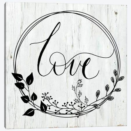Love Canvas Print #DSG54} by Daniela Santiago Art Print