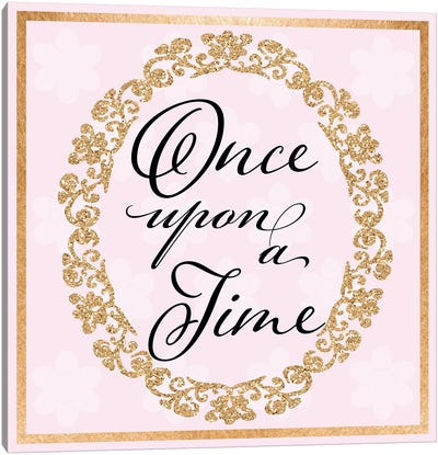 Once Upon A Time Canvas Art Print