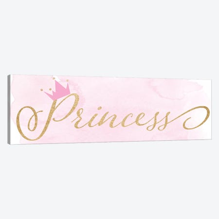 Princess Canvas Print #DSG58} by Daniela Santiago Canvas Wall Art