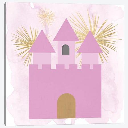 Princess Castle Canvas Print #DSG59} by Daniela Santiago Canvas Art