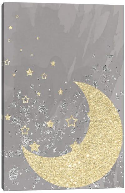 Sparkling Night Canvas Art Print