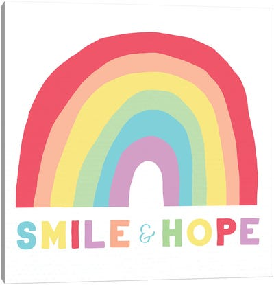 Smile and Hope Canvas Art Print