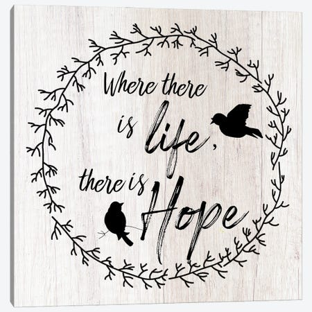 There is Hope Canvas Print #DSG76} by Daniela Santiago Canvas Print