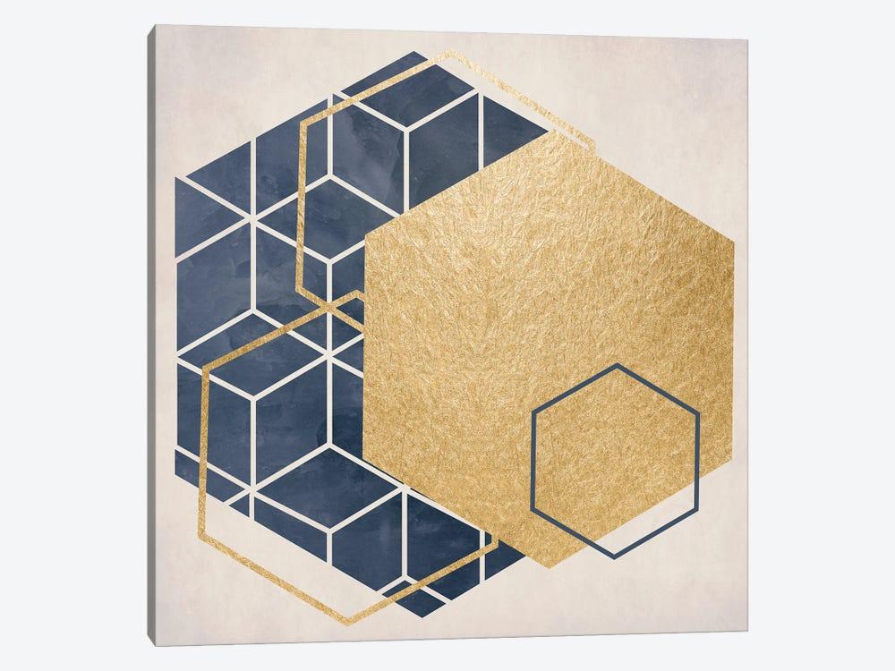 Geo I by Daniela Santiago 1-piece Canvas Artwork