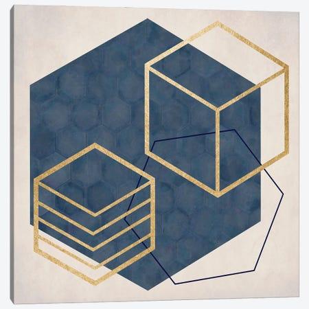 Geo II Canvas Print #DSG80} by Daniela Santiago Art Print