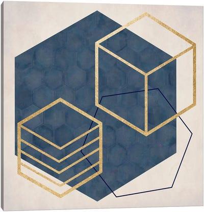 Geo II Canvas Art Print