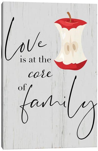 Core of Family Canvas Art Print
