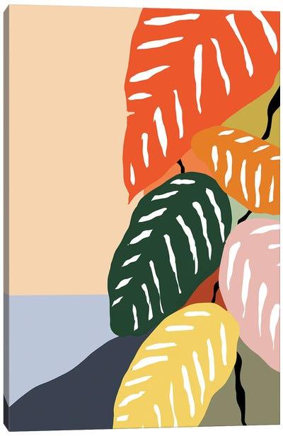 Tropical Plant II Canvas Art Print