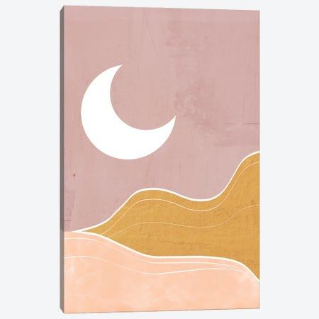 Sedona Moon Canvas Print #DSG98} by Daniela Santiago Canvas Wall Art