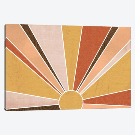 Sedona Sunrise Canvas Print #DSG99} by Daniela Santiago Canvas Wall Art
